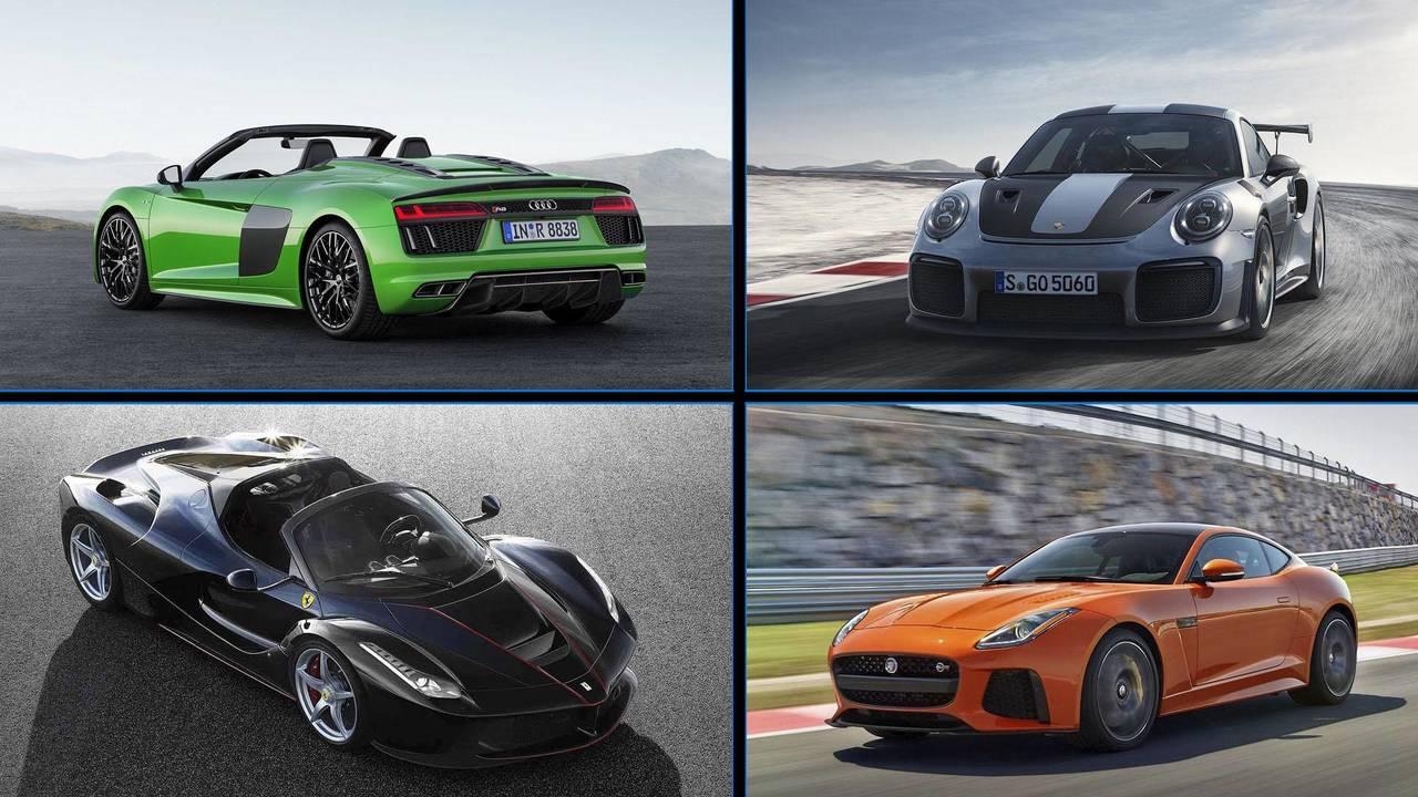 Los coches más potentes de marcas Premium