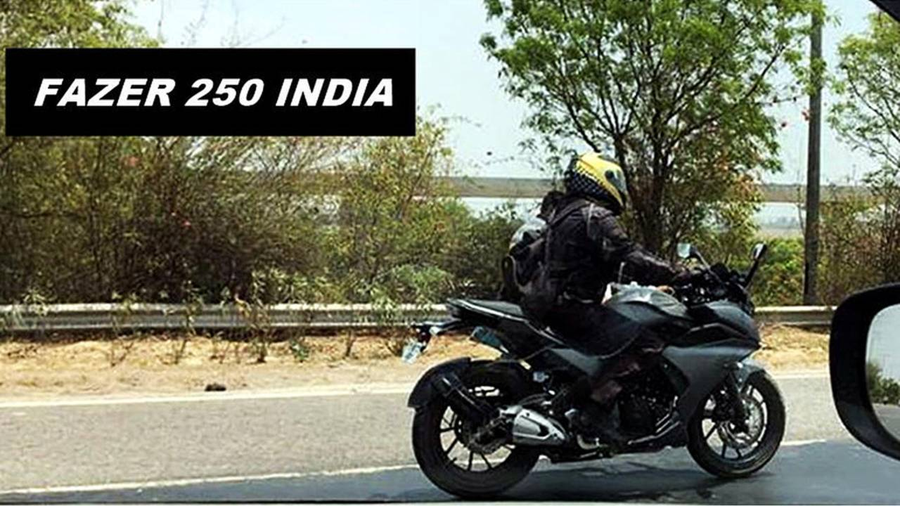 Yamaha Fazer 250 Seen Up-Close and Personal in India