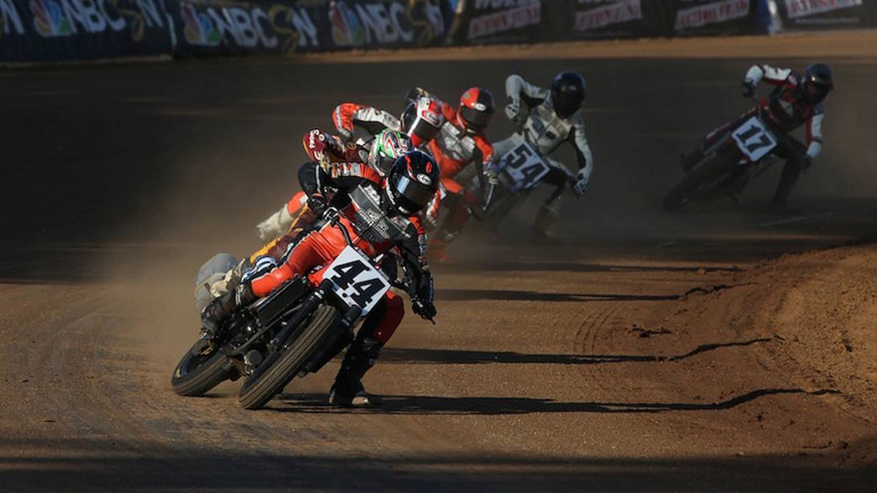 Harley-Davidson Announces 2018 Factory Flat Track Team