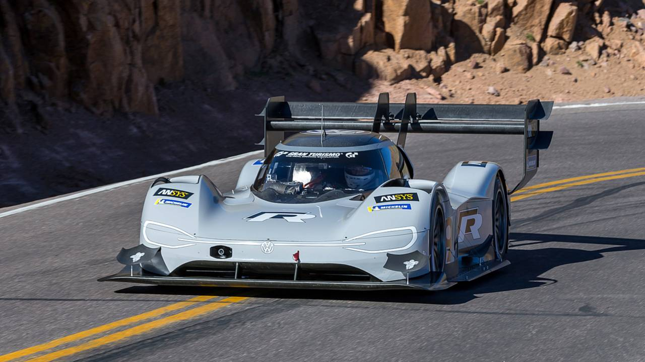 Romain Dumas, Volkswagen I.D. R Pikes Peak 2018