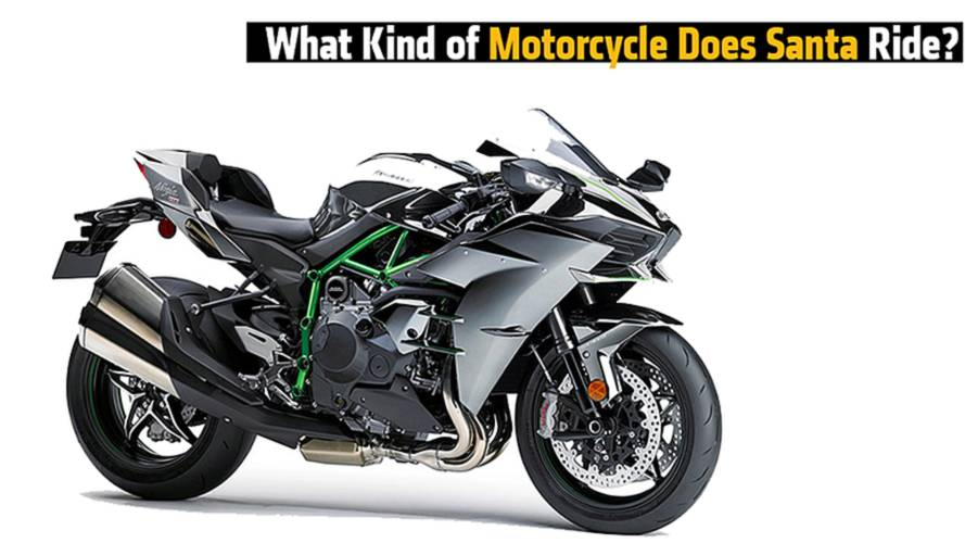 What Kind of Motorcycle Does Santa Ride?