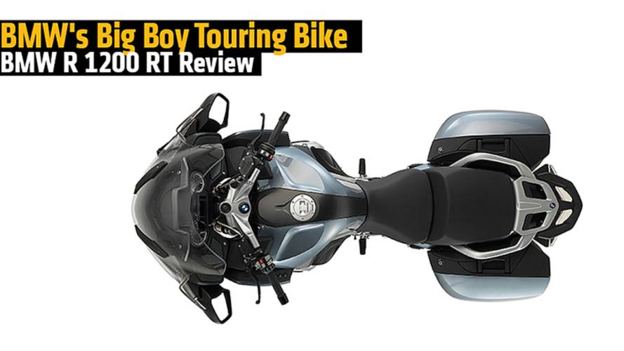 BMW's Big Boy Touring Bike - BMW R 1200 RT Review