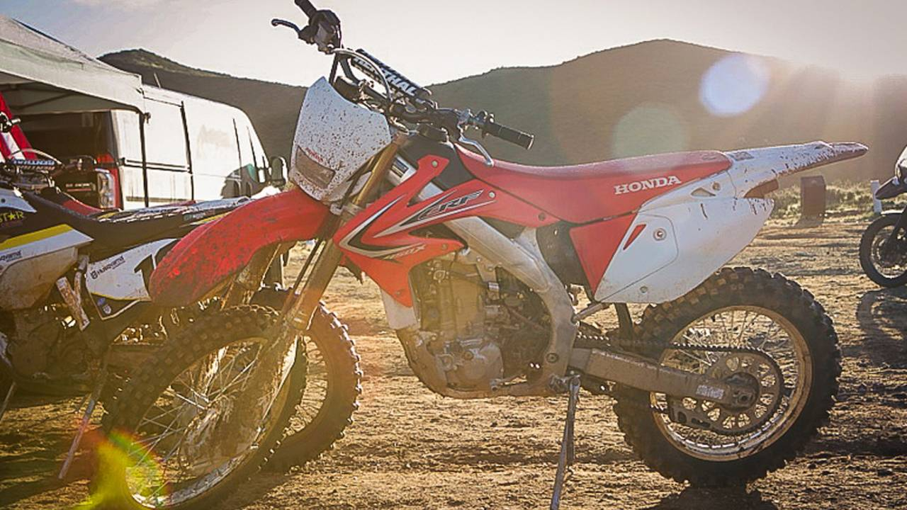 Honda CR450X: Shaking Hands With An Old Friend — Family Dirt Day