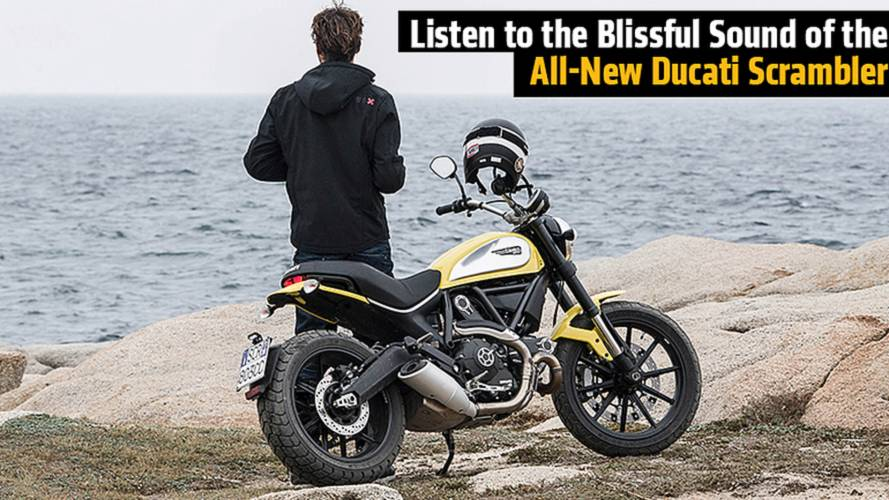 Listen to the Blissful Sound of the All-New Ducati Scrambler with Aftermarket Exhaust