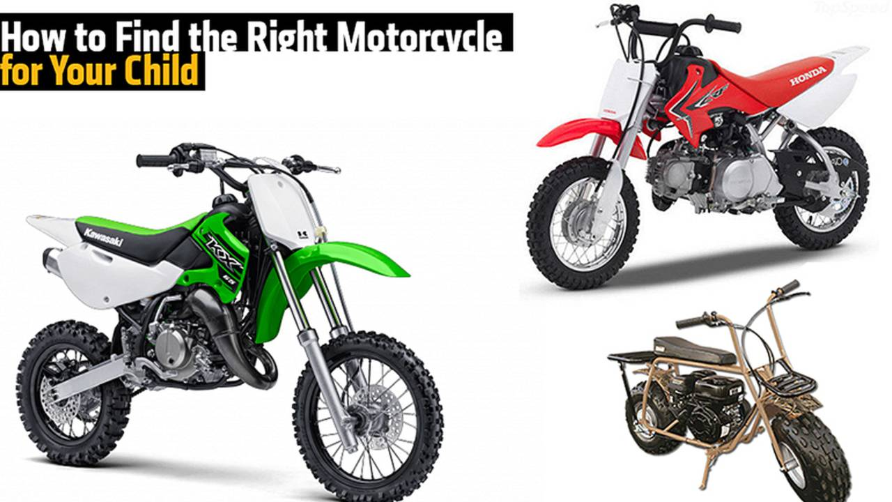 How to Find the Right Motorcycle for Your Child