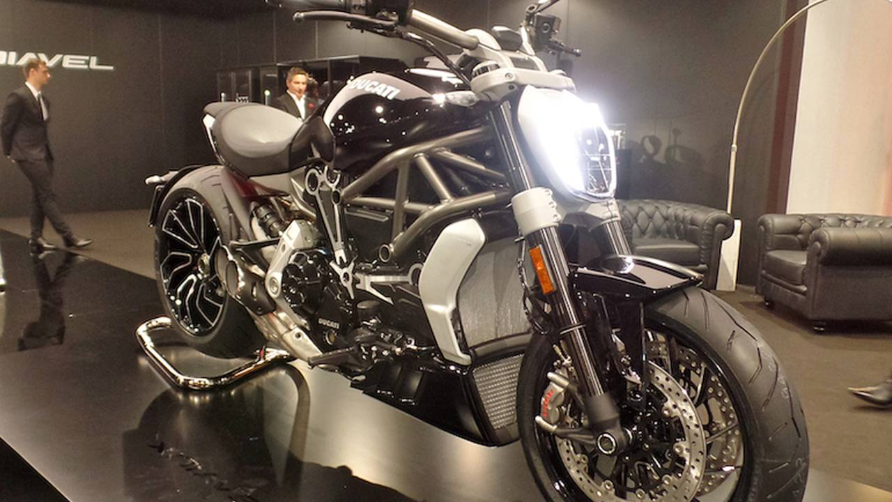 Ducati XDiavel - First Look