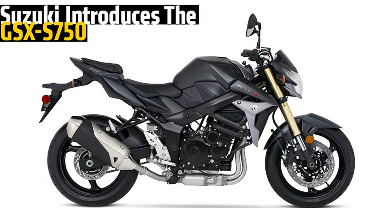 Suzuki Introduces The GSX-S750