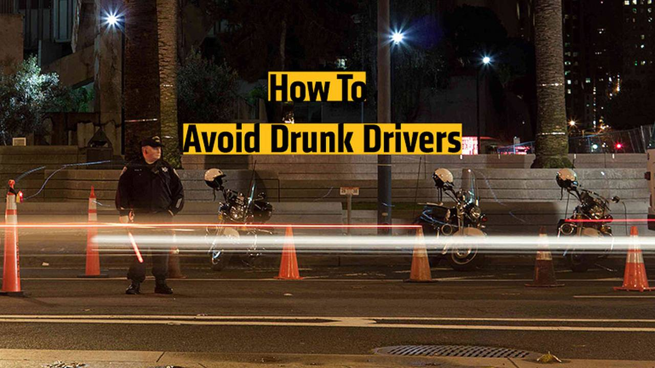How To Avoid Drunk Drivers On a Motorcycle
