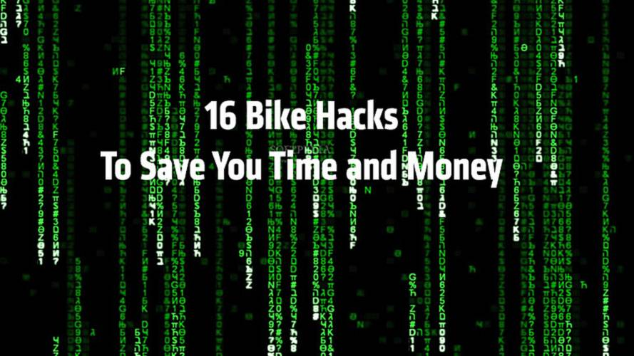16 Bike Hacks That Will Save You Time and Money