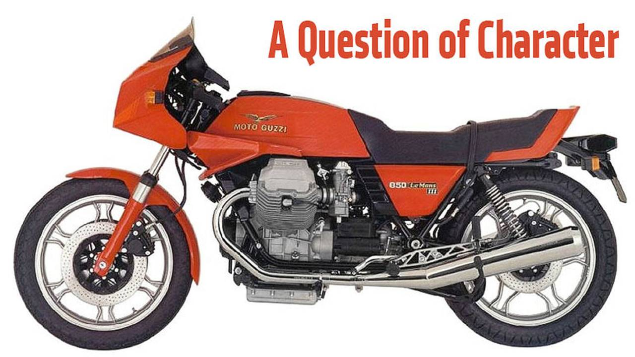 A Question of Motorcycle Character