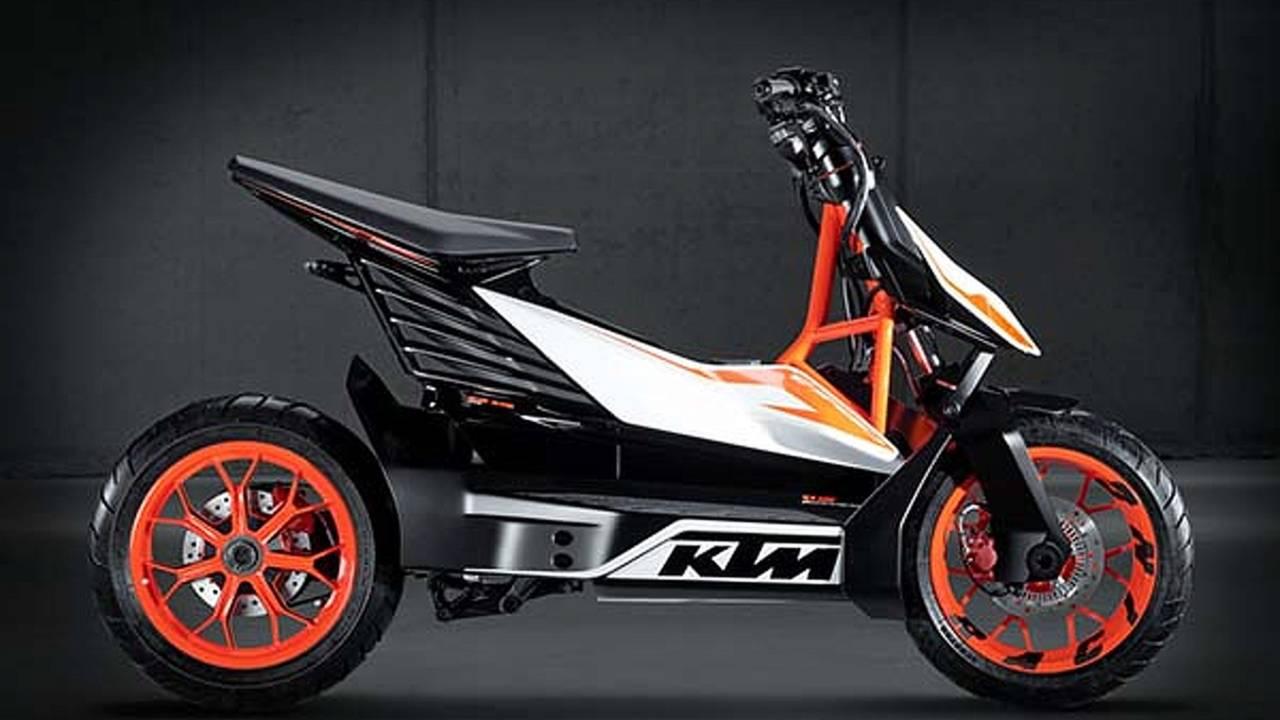 KTM E-SPEED: orange mobility