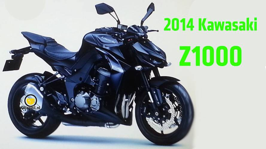 Leaked Online: 2014 Kawasaki Z1000 Photo