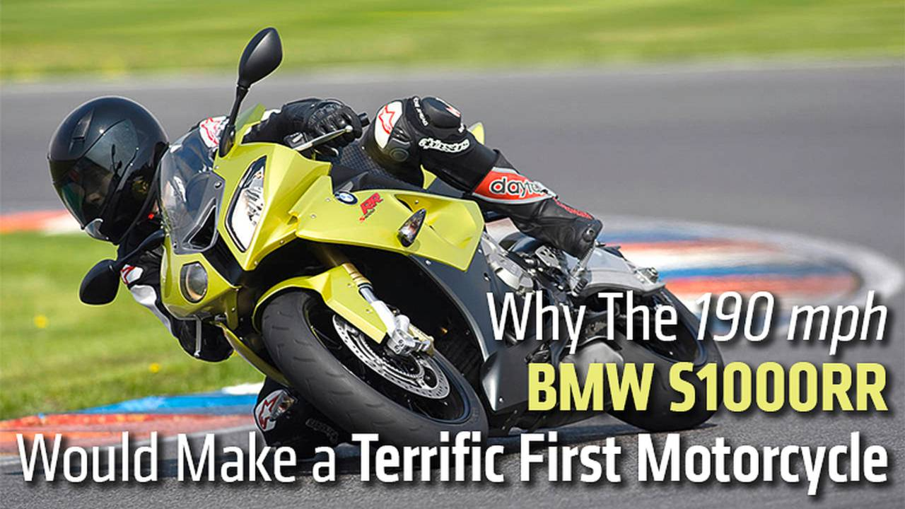 Why The 190 mph BMW S1000RR Would Make a Terrific First Motorcycle