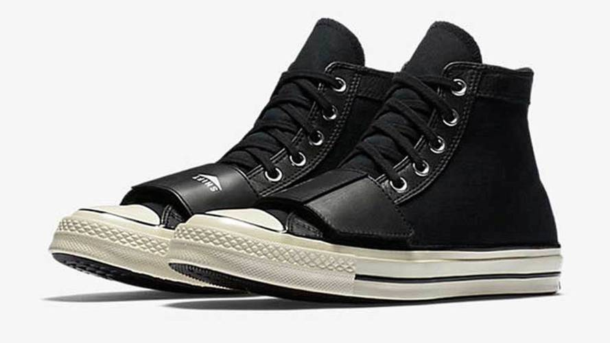 Ground Chuck - Moto Friendly Converse High Tops