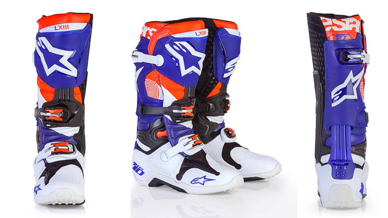 Alpinestars Releases Special Edition of Tech 10 Boot