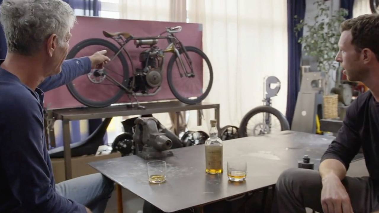 Scotch, Bikes, and Bourdain – What Could Go Wrong?