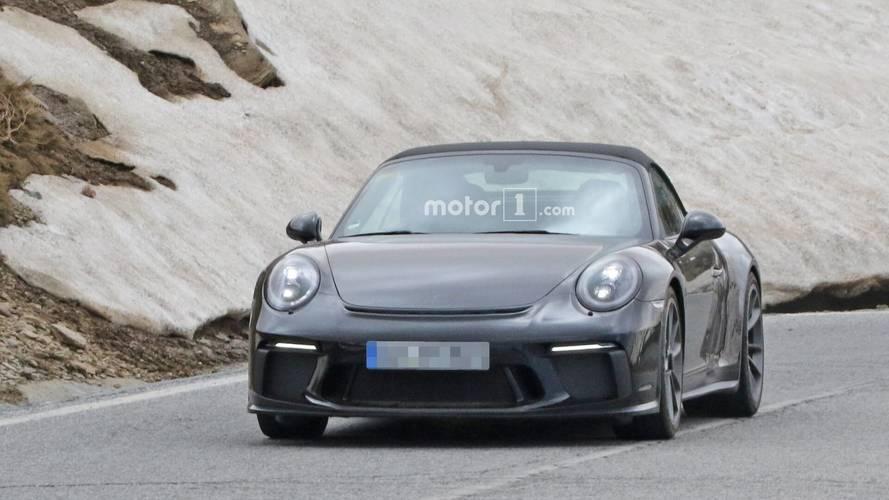 Porsche 911 GT3 Touring'e Benzeyen Prototipin Casus Fotoğrafları