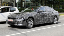 2019 BMW 3 Series Sedan spy photo