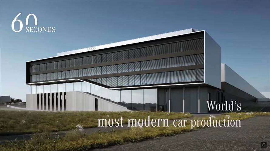 "Mercedes Gives Virtual Tour Of ""World's Most Modern Car Production"""