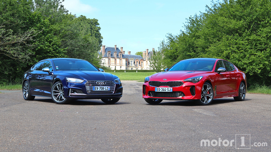 Essai comparatif - L'Audi S5 Sportback affronte la Kia Stinger GT