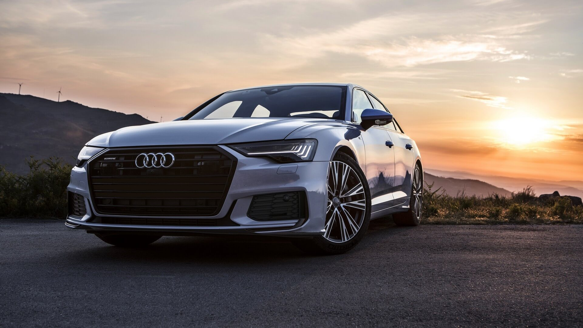 Audi A6 Beauty Shots Might Steer You Away From Buying A 5 Series Audi a6l 55 tfsi quattro s line