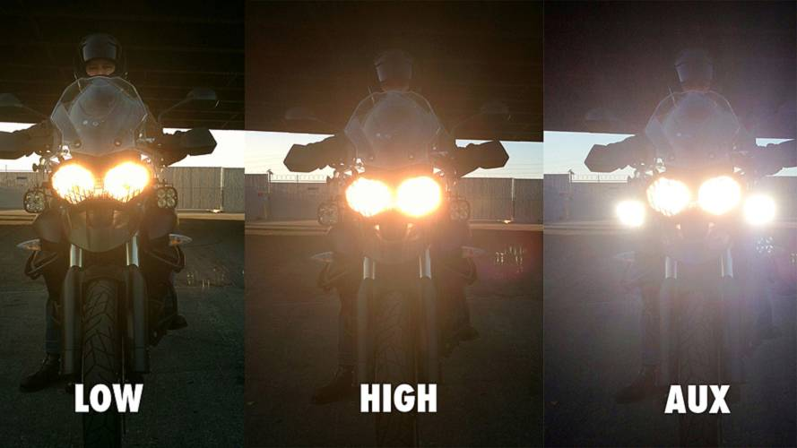 Gear: Baja Designs Squadron LED Motorcycle Lights