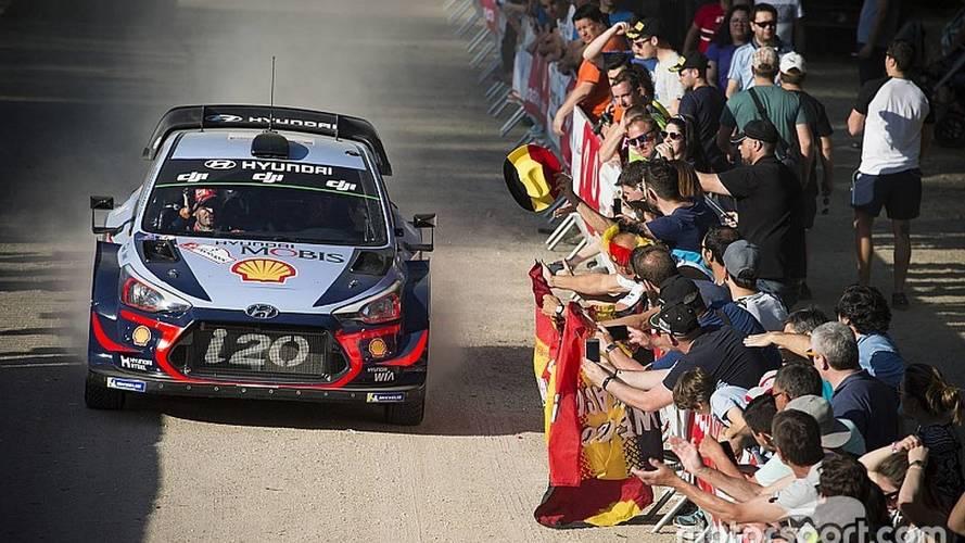 WRC Portekiz: Neuville hem yarışı hem liderliği kazandı