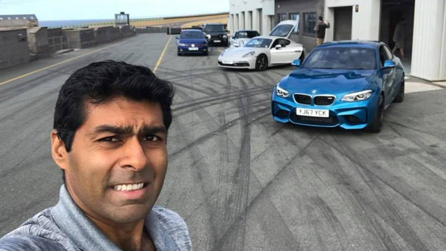 Karun Chandhok Joins Fifth Gear Team