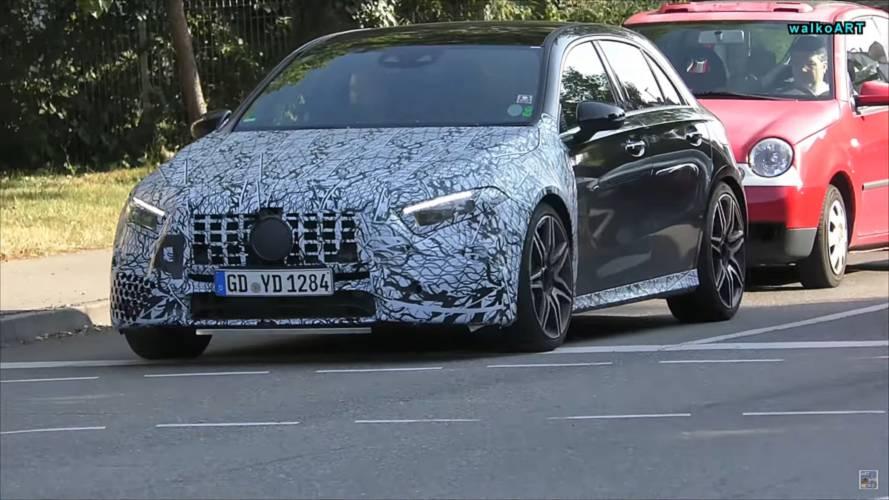 Mercedes-AMG A45, Drift modu ve 400 beygirlik gücü ile gelecek