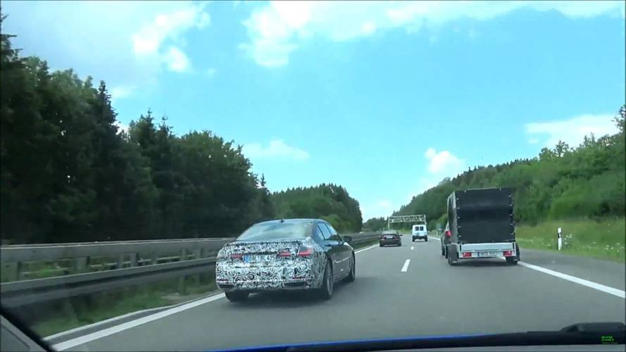 2019 Alpina B7 facelift screenshots from spy video