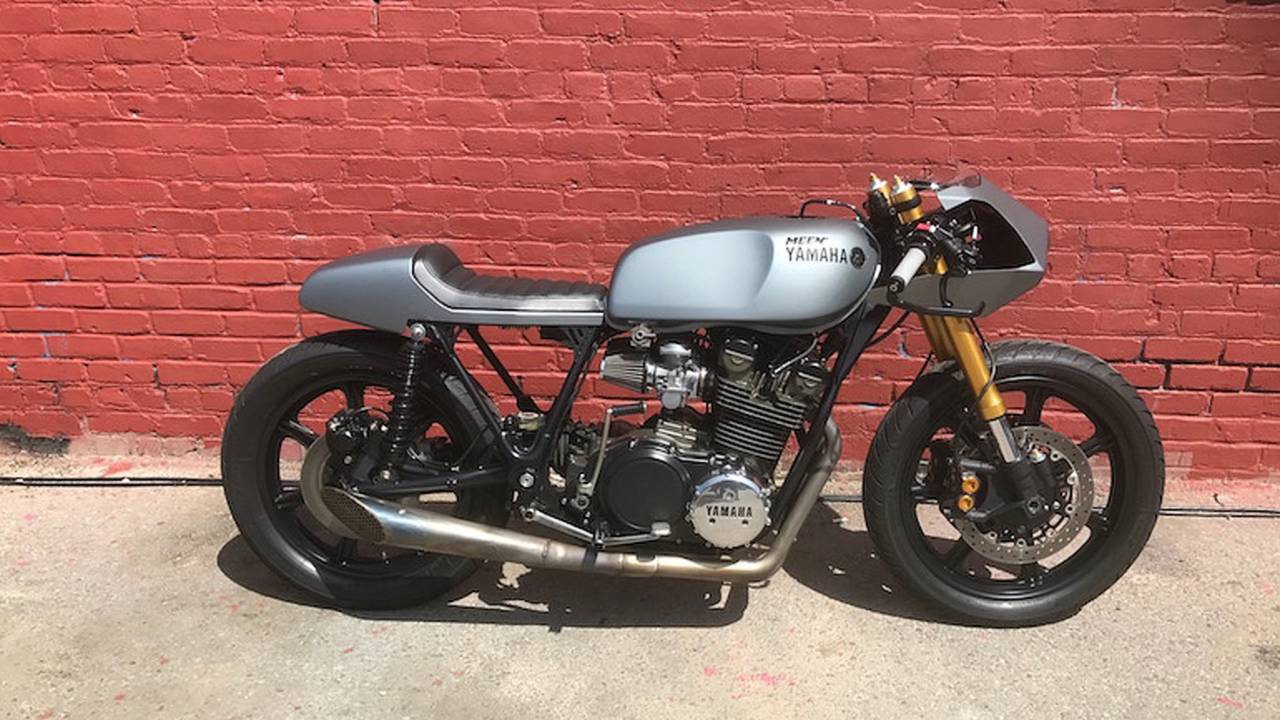 Fernando Cruz's Yamaha XS750 Neo Cafe Racer