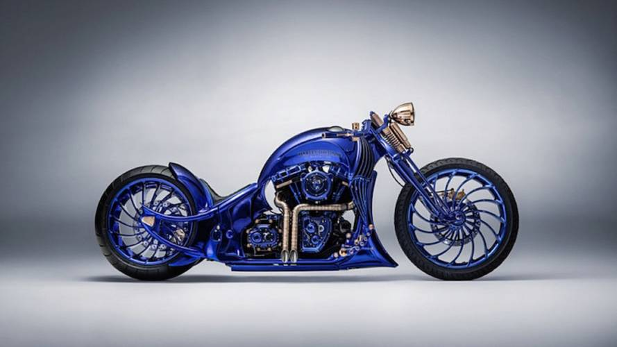 Blue Edition is a Near $2M Harley Softail Slim