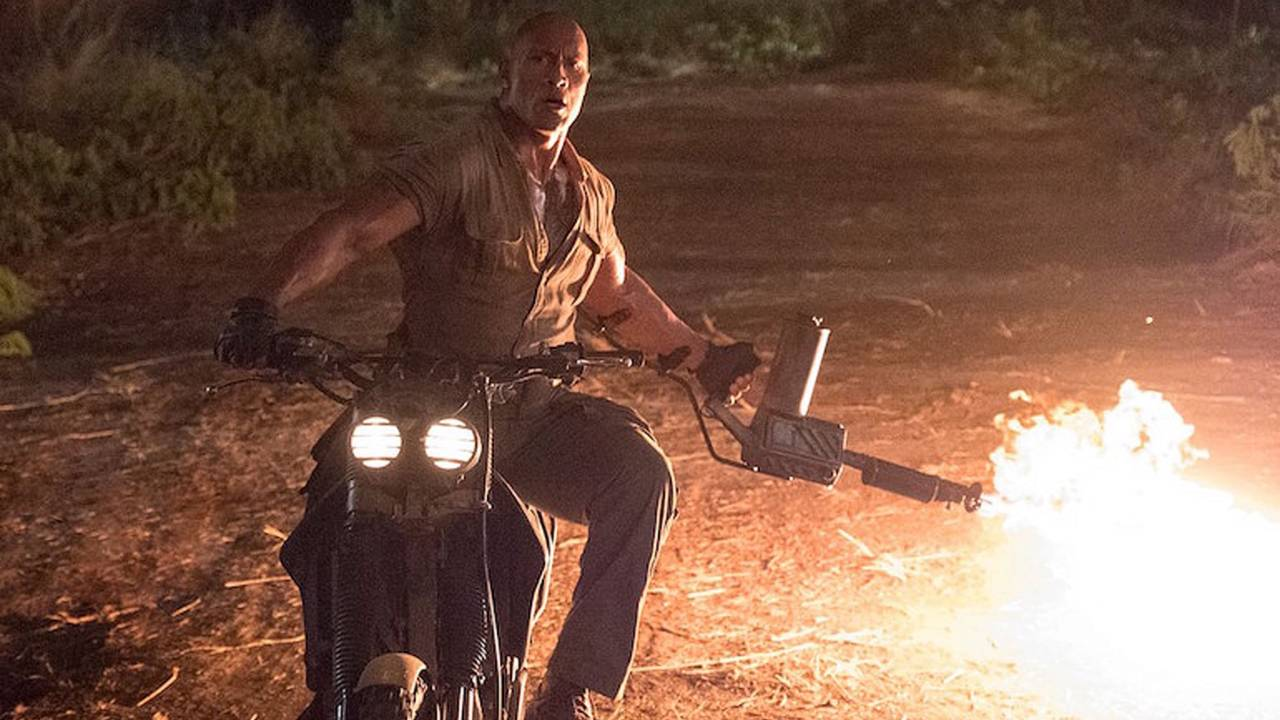 New Jumanji Movie Covers All Your Moto-Action Needs
