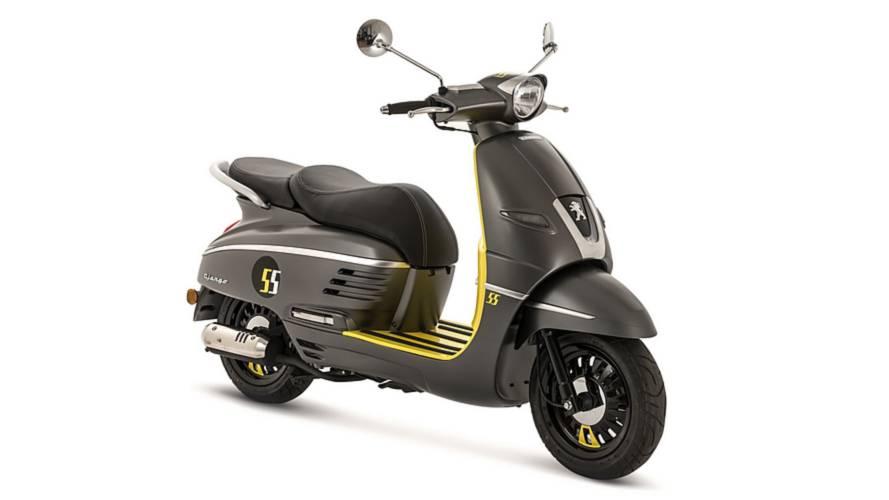 Peugeot Django, scooter oficial Madrid Orgullo 2018