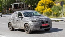 Renault Captur Coupe spy photo