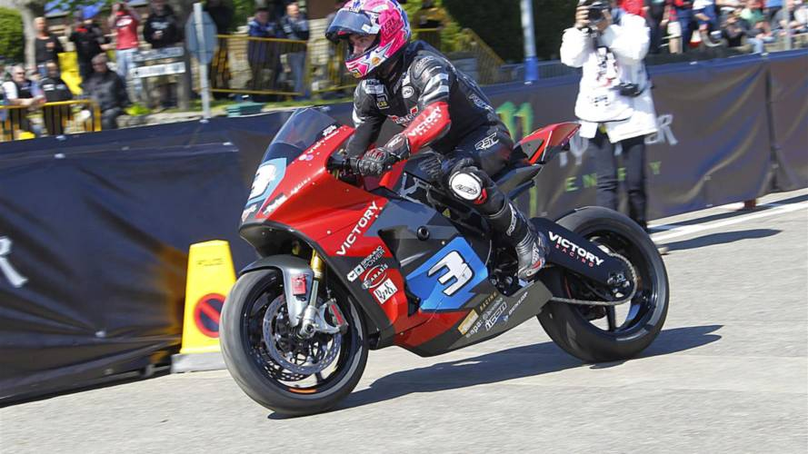 FOUND Victory's Isle of Man TT Electric Bike Racer Recovered