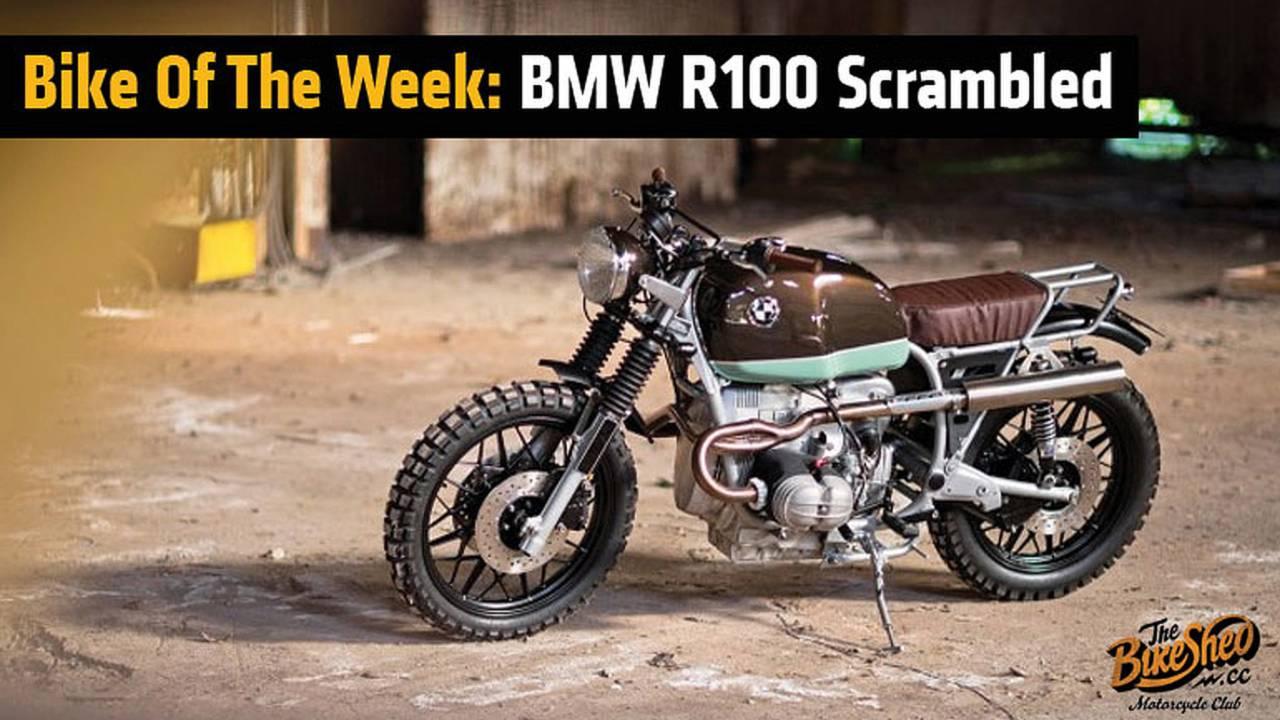 Bike Of The Week: BMW R100 Scrambled