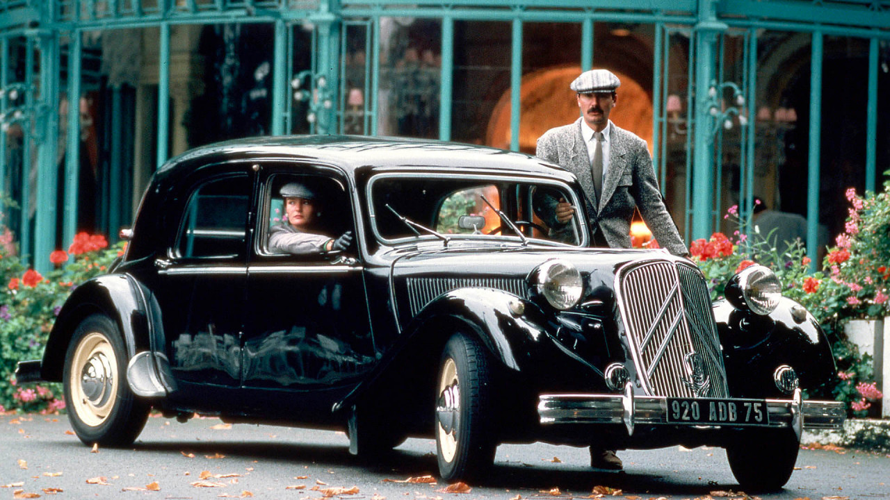 "Citroën Traction Avant: ""Gangster-Limousine"""