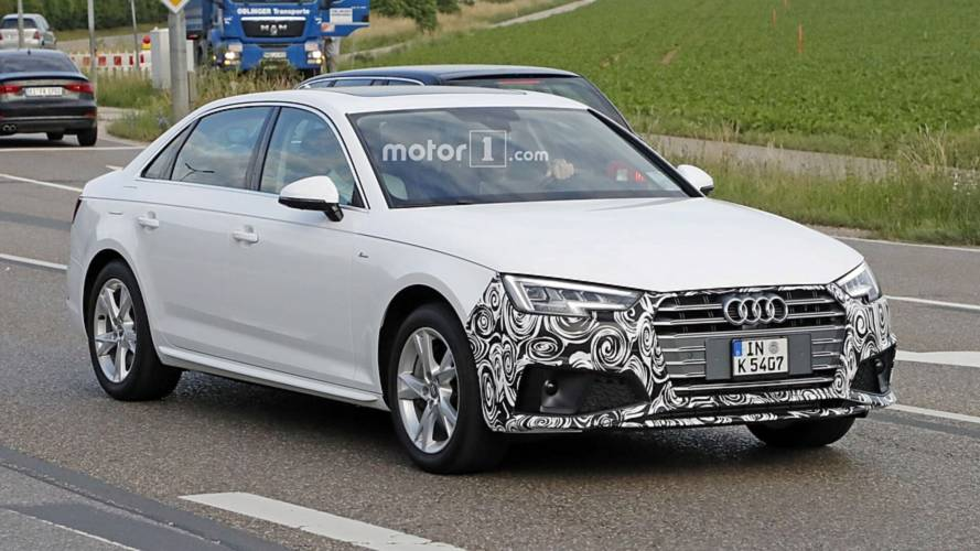 2019 Audi A4 Sedan Spied With Discreet Styling Tweaks
