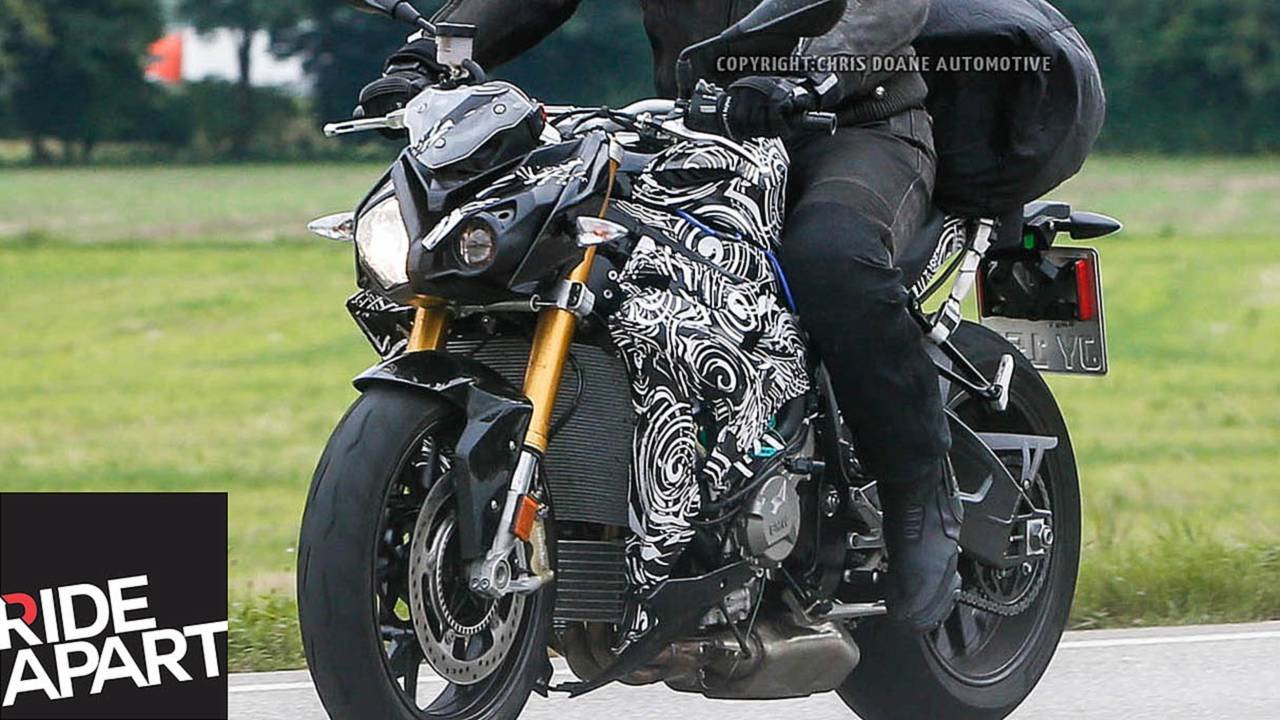 2014 BMW S 1000 S Spied Testing In Germany