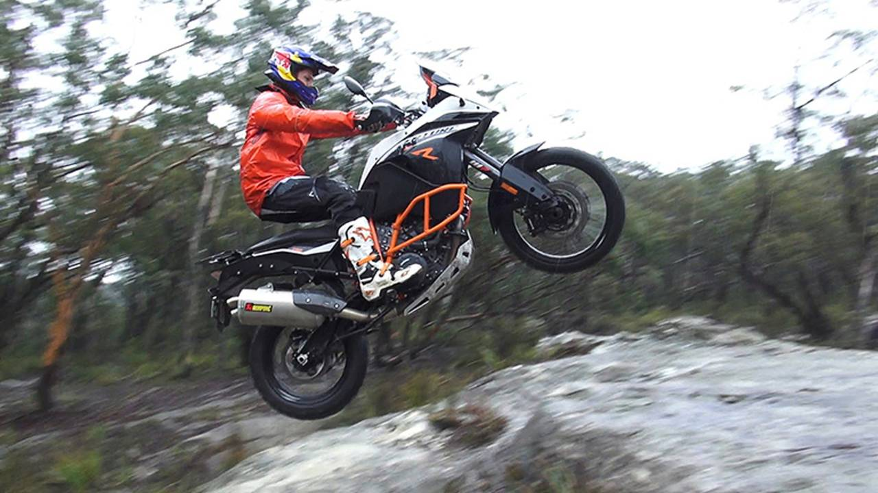 Watch A KTM 1190 Adventure Cut Loose in the Wilderness