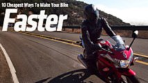ask rideapart 10 cheapest ways to make your bike faster