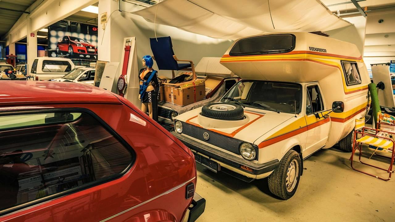 Versions camping de la Golf Caddy