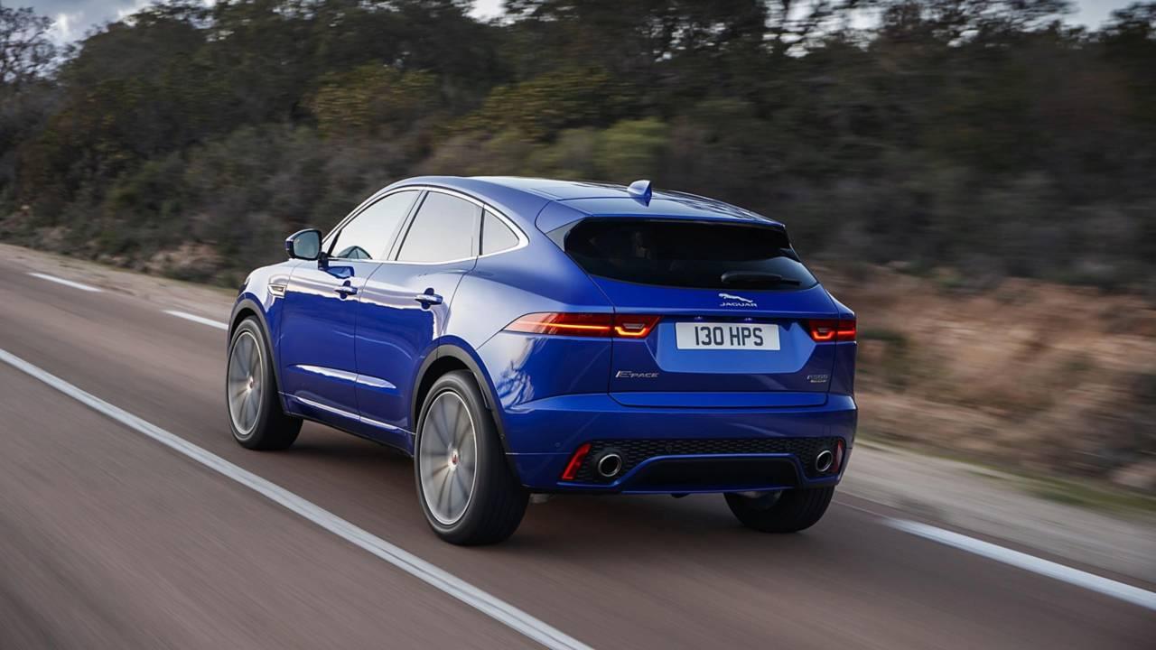 Jaguar E-Pace with Smart Settings