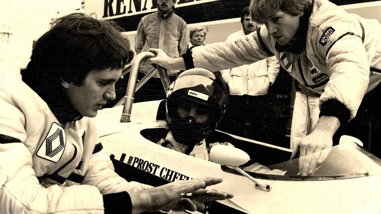 8. Eddie Cheever, dentro del coche (132 Grandes Premios)