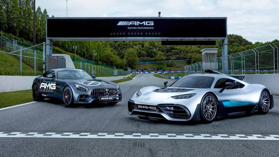 Mercedes-AMG Project One Inaugurates New AMG Speedway In Korea