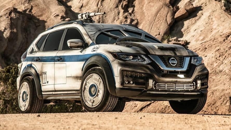 La Nissan X-Trail si veste da Millennium Falcon