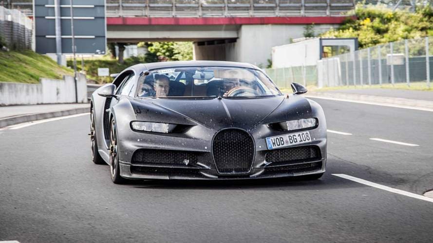 Bugatti Chiron Divo Spotted Testing At Nürburgring?