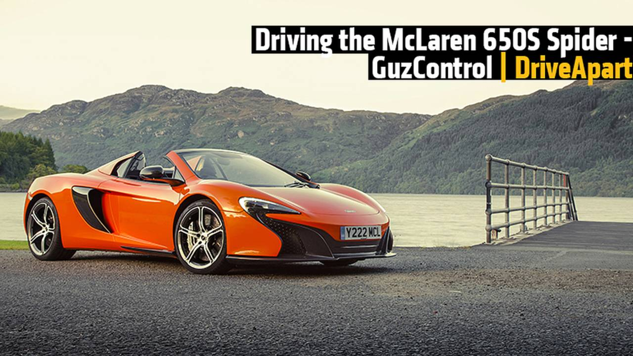 What People Think When You Drive the McLaren 650S Spider and Why You Shouldn't Care! - GuzControl
