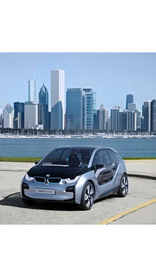 BMW i3 Electric Car May be Nearly Self-Driving